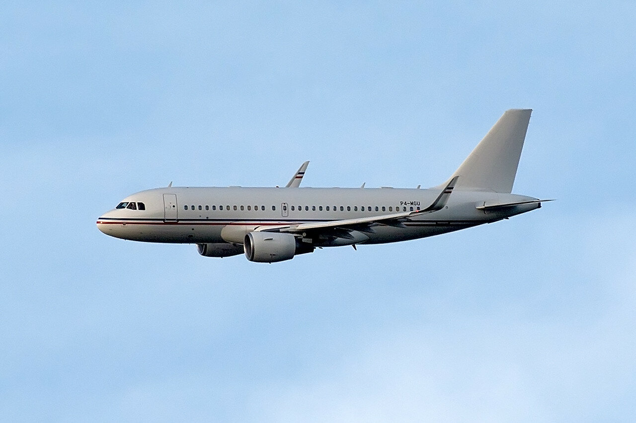 Airbus A319-115X(CJ). Global Jet Luxembourg. P4-MGU.