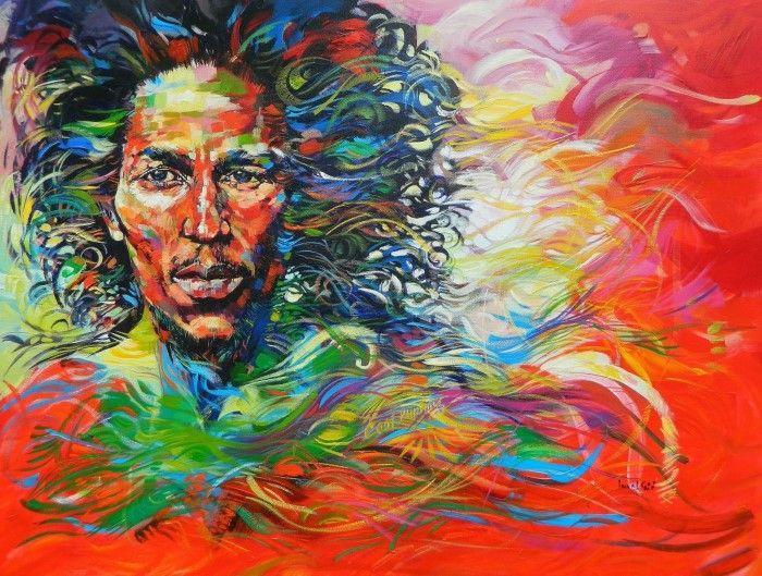 Картины художника Said Oladejo-Lawal