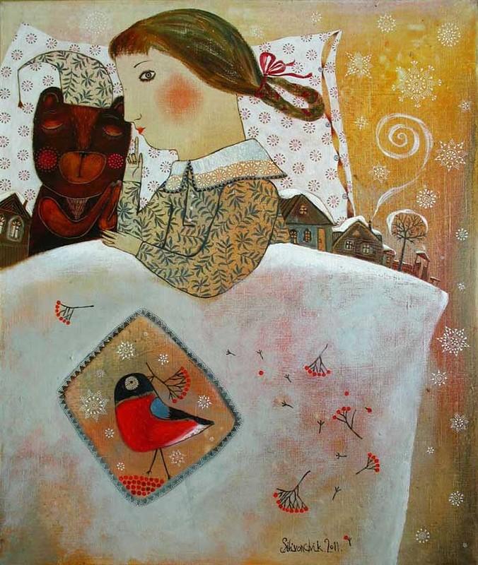Картины Анны Силивончик