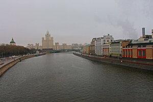 Седое утро в Москве