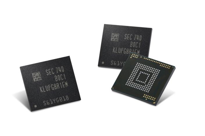 Самсунг может снабдить Galaxy S9 512 ГБ высокоскоростной UFS-памяти