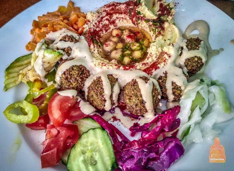 Вкуснейший фалафель делают в Охриде