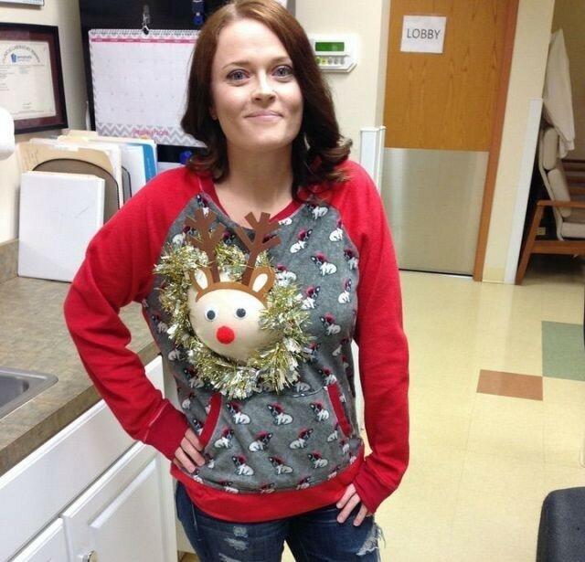 0 17ca43 109eb4be XL - Модная рождественская забава американок #reindeerboob