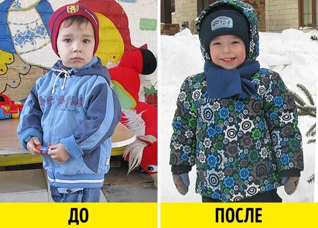 12фото малышей доусыновления ипосле, которые пробирают докома вгорле (12 фото)