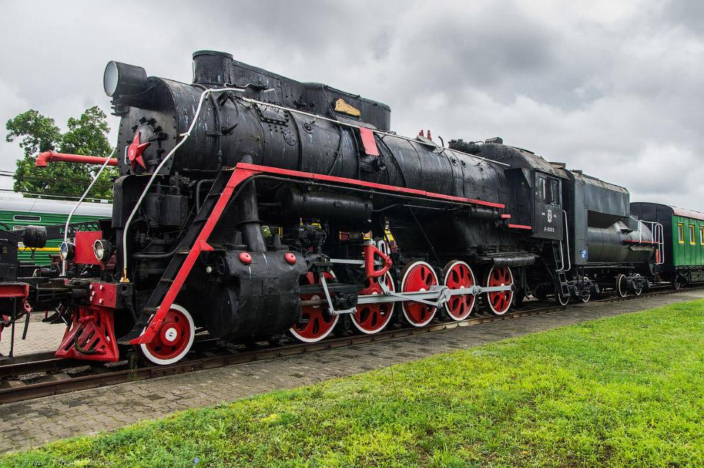 14. Пассажирский паровоз Типа 1-3-1 серии Су №250-30. Ввыпускался 1924 по 1951 гг.Спроектирован в