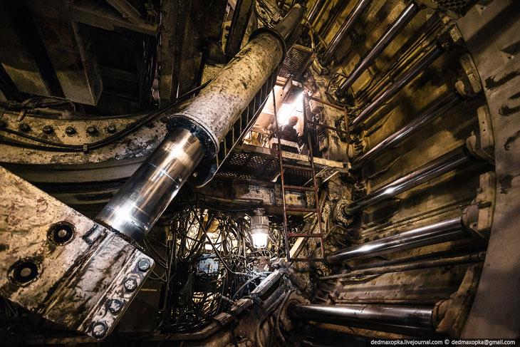 Подземные тоннели в Красноярске (21 фото)
