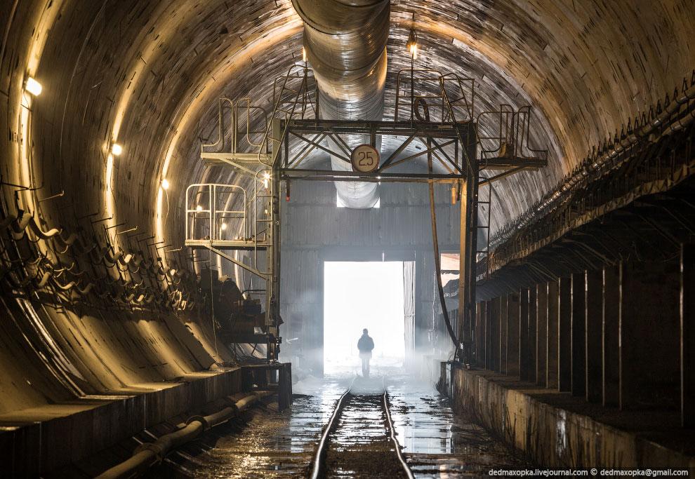 Хорошим дополнением к Манскому тоннелю было посещение  Крольского тоннеля , который р