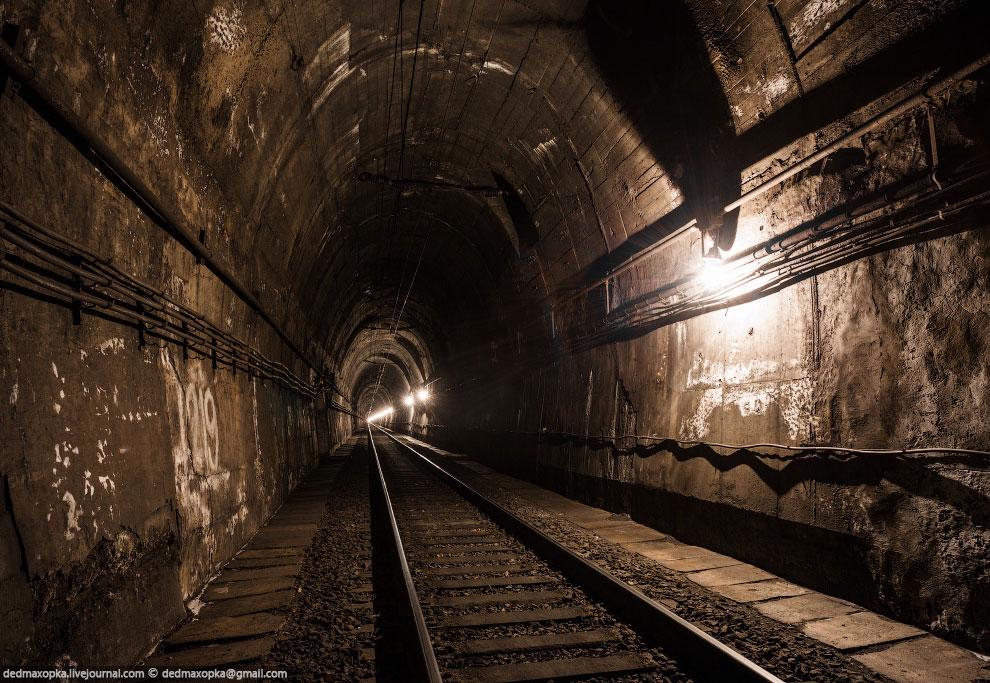 Портал старого тоннеля: