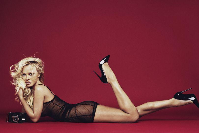 Спасите нас: 50-летняя Памела Андерсон снялась для рекламы нижнего белья (8 фото)