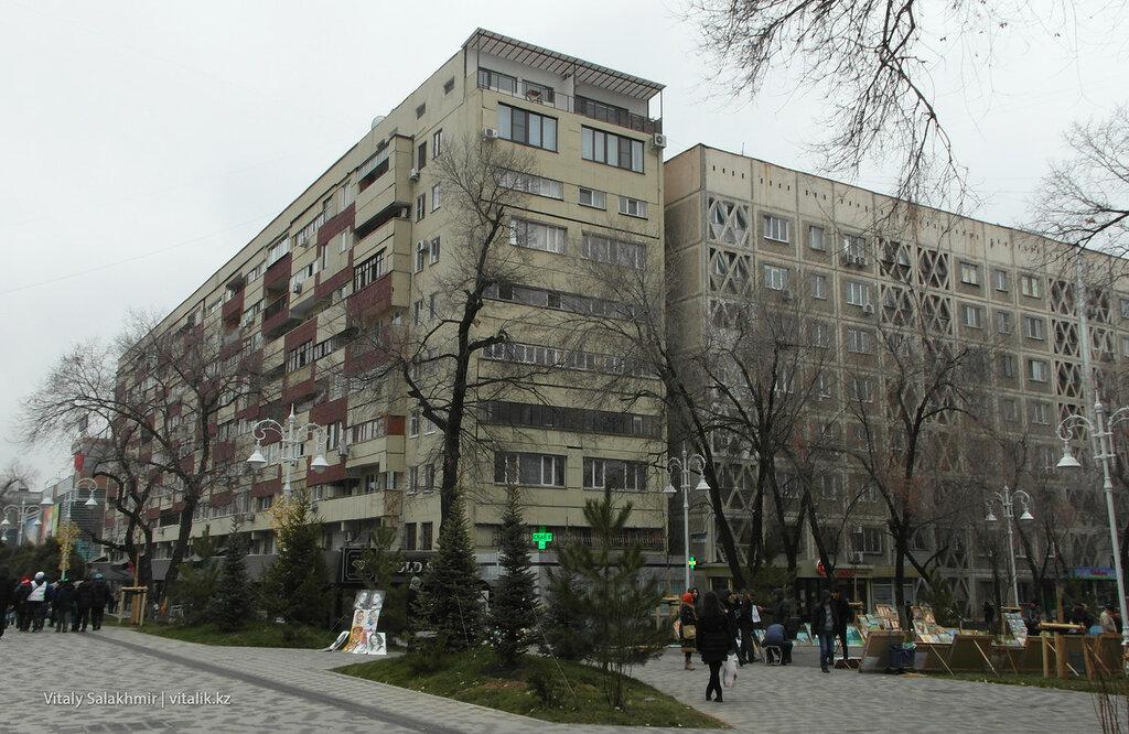 Дом на Жибек Жолы и Панфилова.