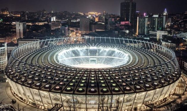 Наподготовку Олимпийского кфиналуЛЧ выделено неменее 100 млн грн