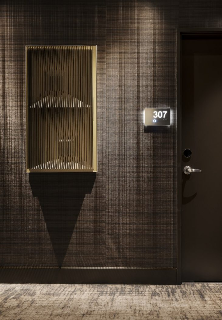 Guestrooms  Rockwell Group developed two colour schemes for the guestrooms. Inspired by sky, wa