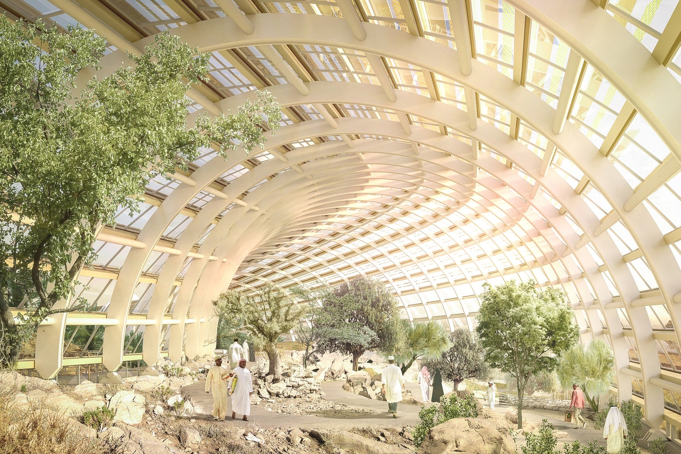 World's Future Largest Botanic Garden Will be in Oman