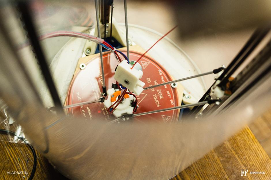Один день в Олимпе, ИТМО, Познакомился с классными ребятами из Олимпа! Разработчики интересных, новых и прочих решений! Один 3D принтер собственной разработки только чего стоит!