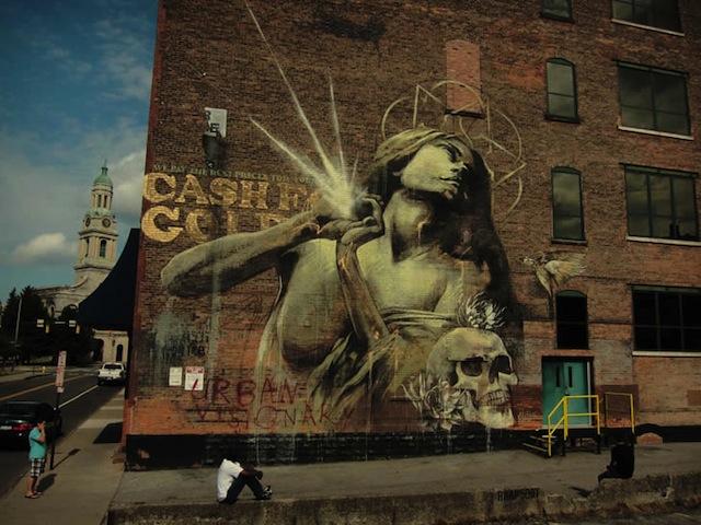 Street Artist – Faith47 (12 pics)
