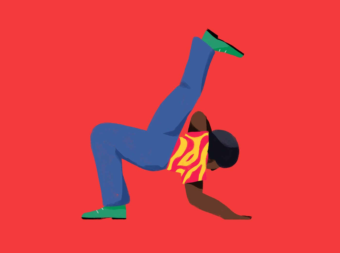 Colourful Street Dancers by Sebastian Curi