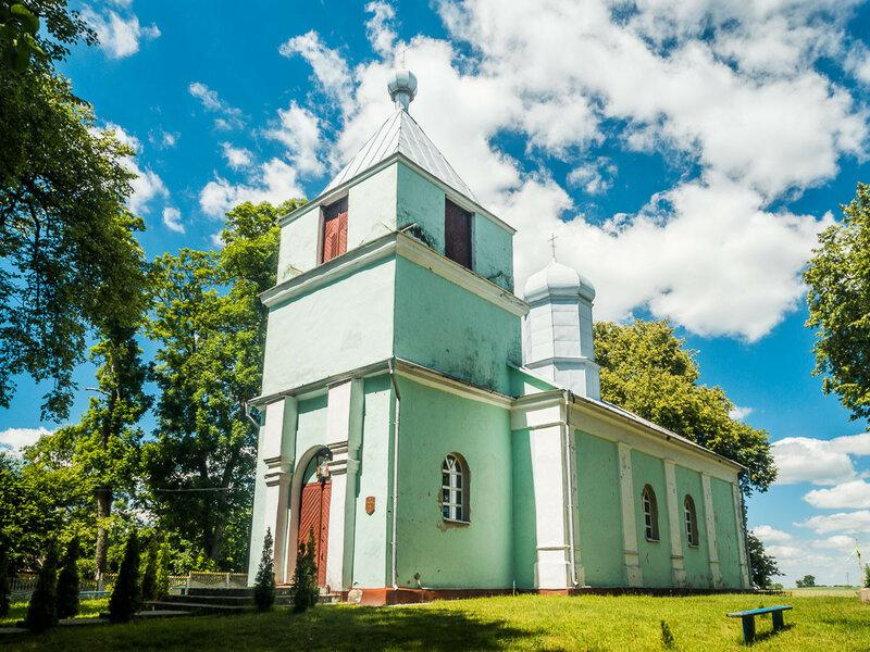 Церковь св. Параскевы в Сычах.