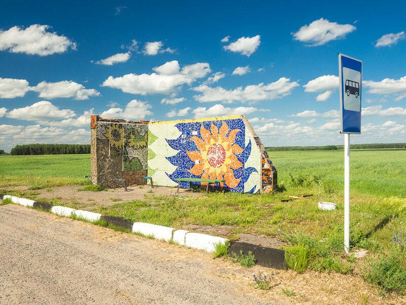 В Беларуси особой ветвью искусства стало остановочное творчество.