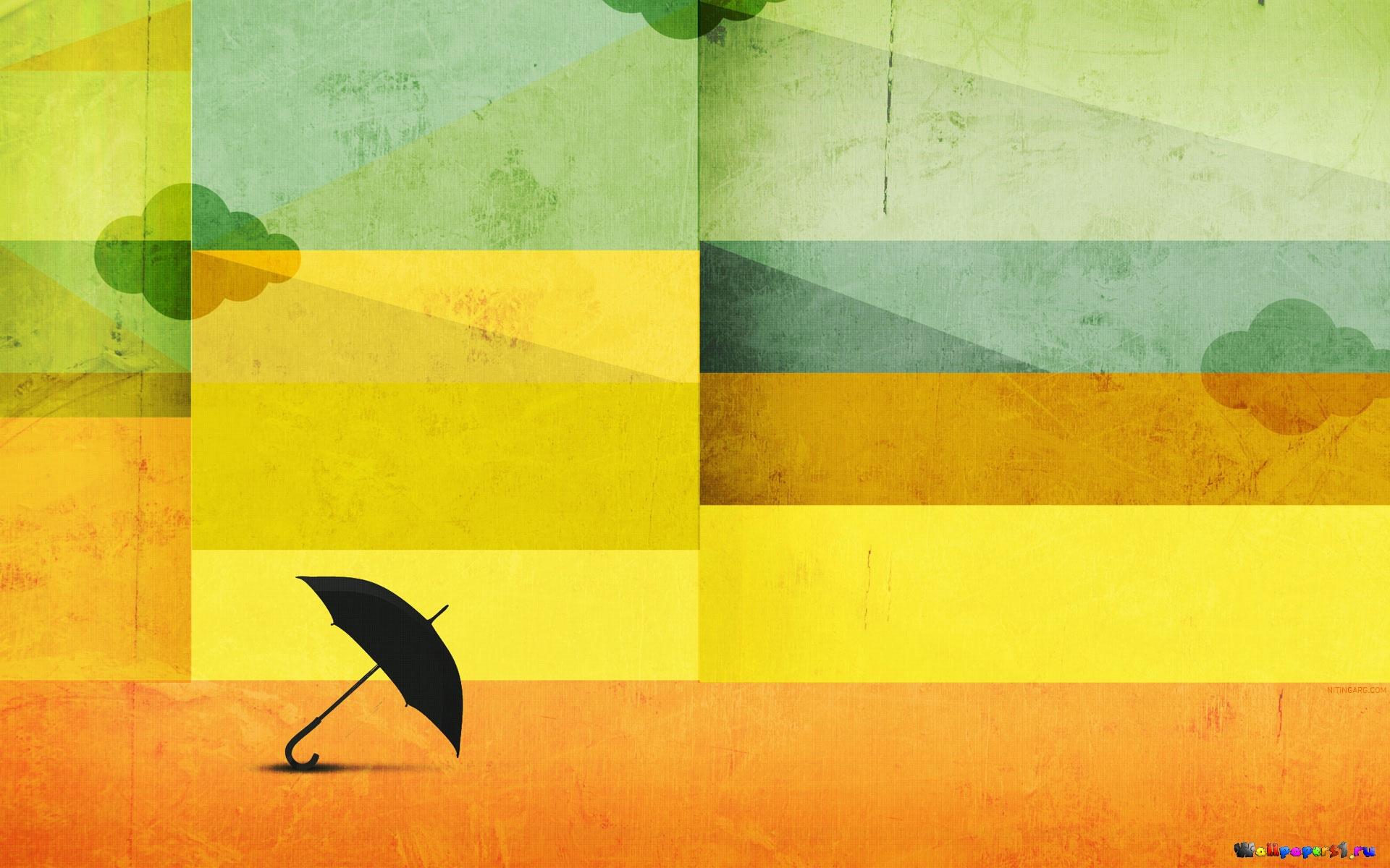 графика абстракция желтый без смс