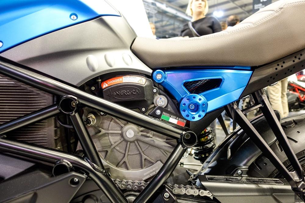 EICMA 2017: Электроцикл Energica Eve EsseEsse9 2018