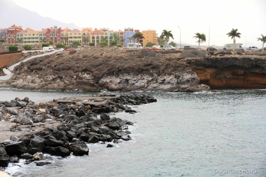 Пляж в Плайя Параисо - Playa El Pinque