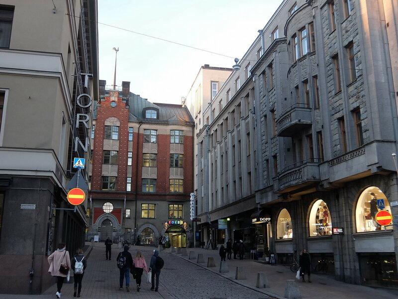 Хельсинки - Переулок