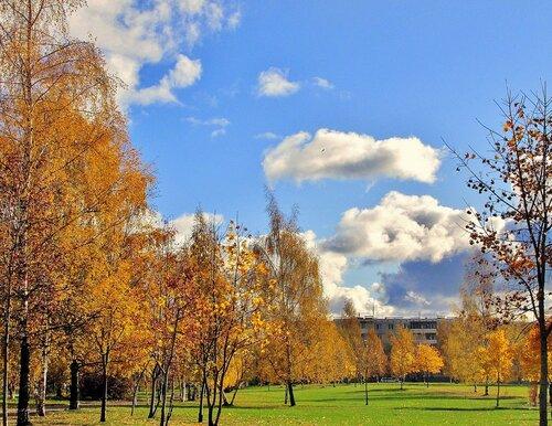 Осенью в городе