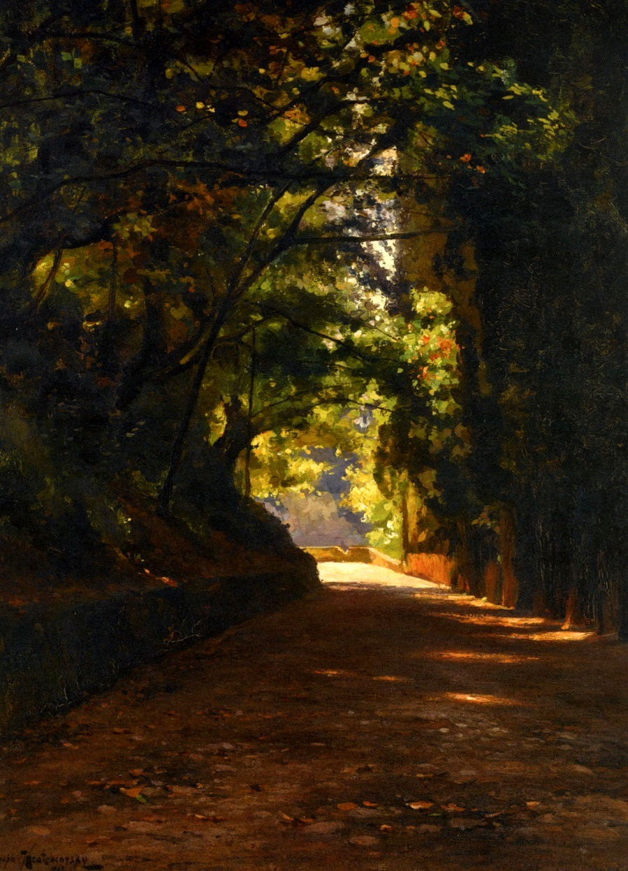 COUNTRY ROAD , 1908