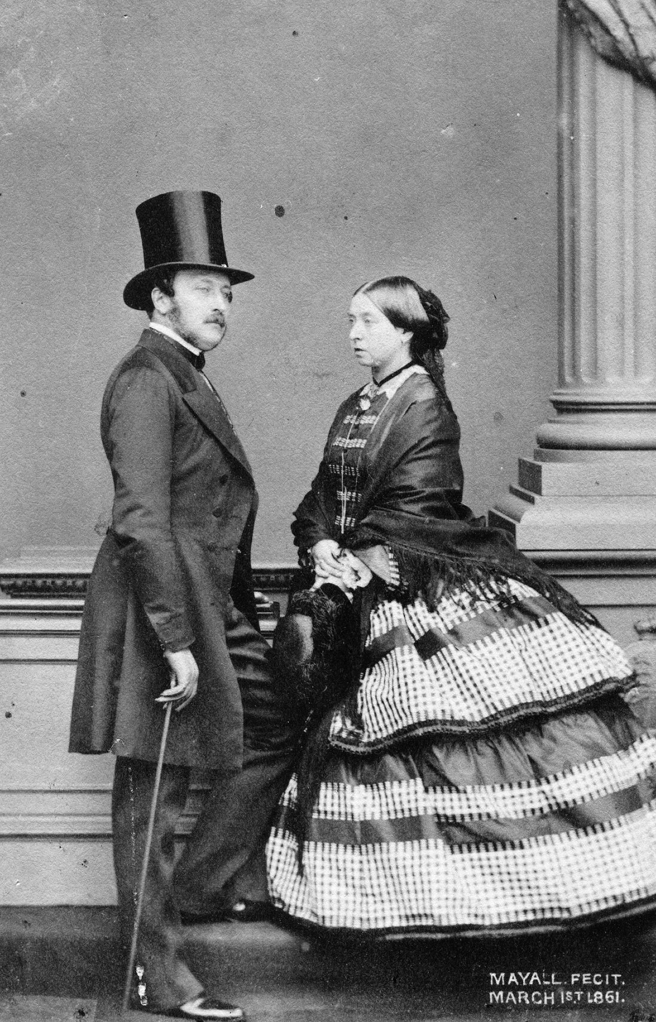 1861. Королева Виктория и принц Альберт