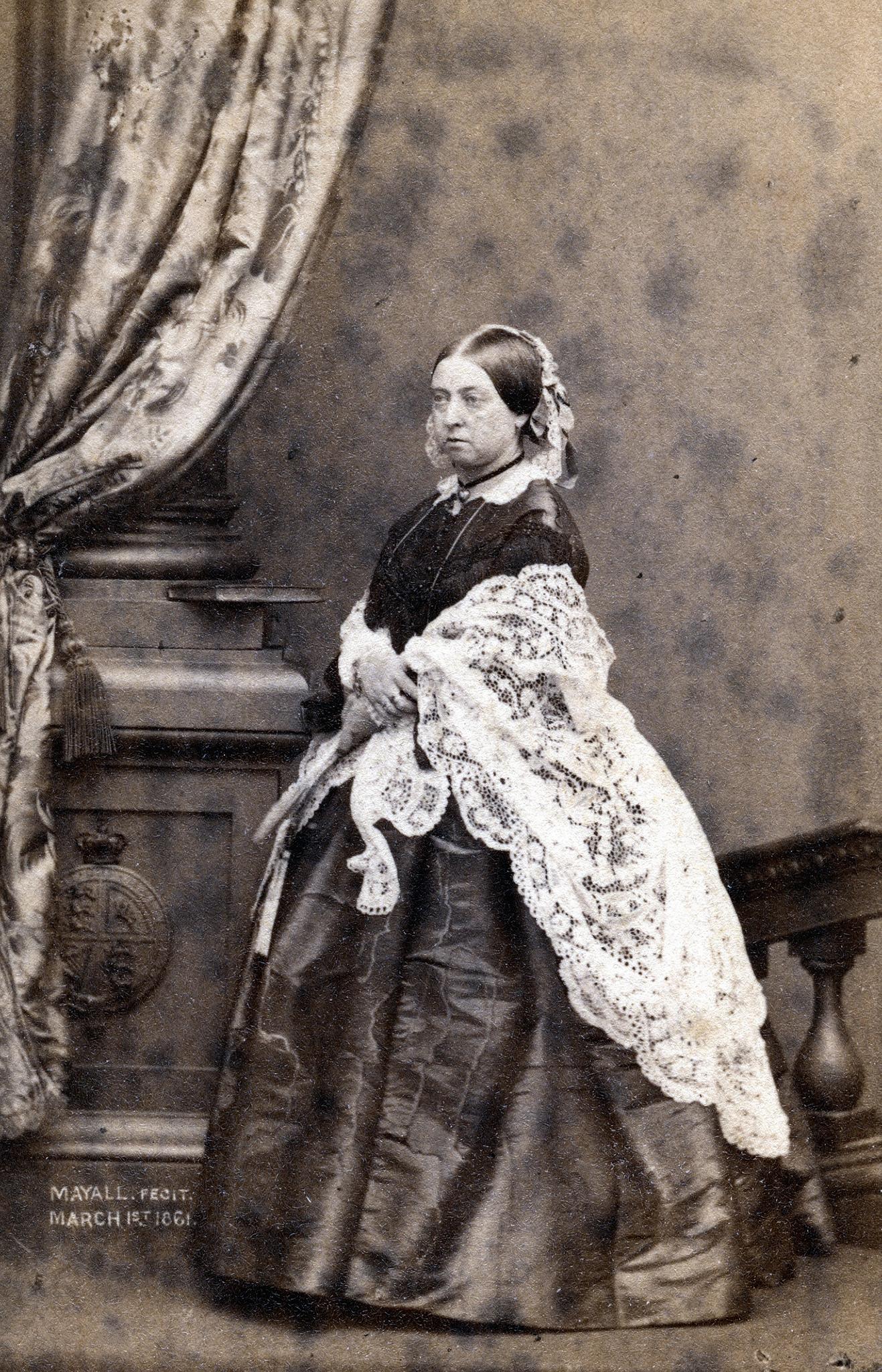 1861. Королева Виктория