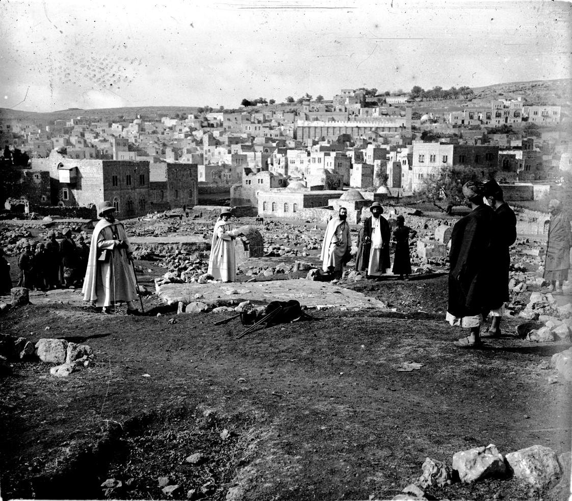 1920. Посещение Хеврона