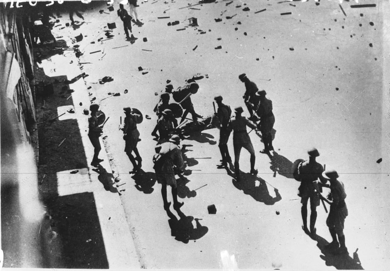 1936. Арабский мятеж в Яффо