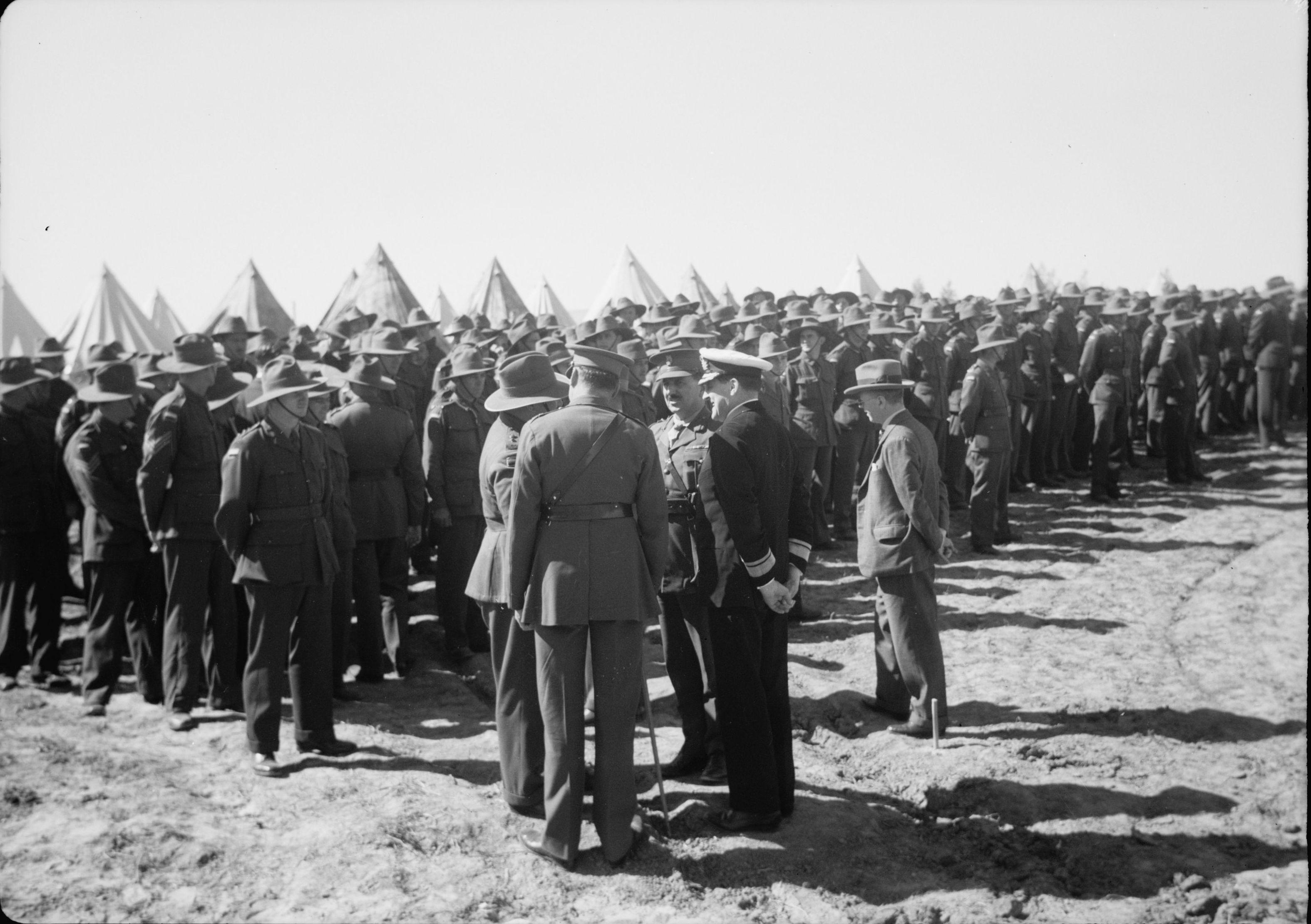 1940. Прибытие в Палестину Энтони Иден