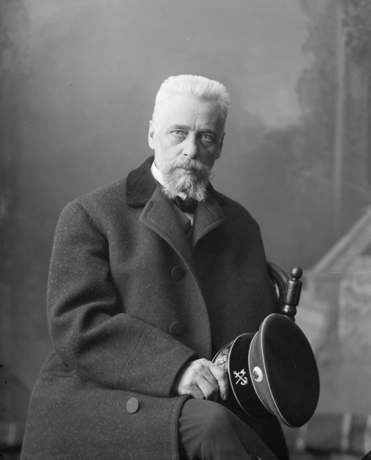Портрет писателя Н.К. Михайловского
