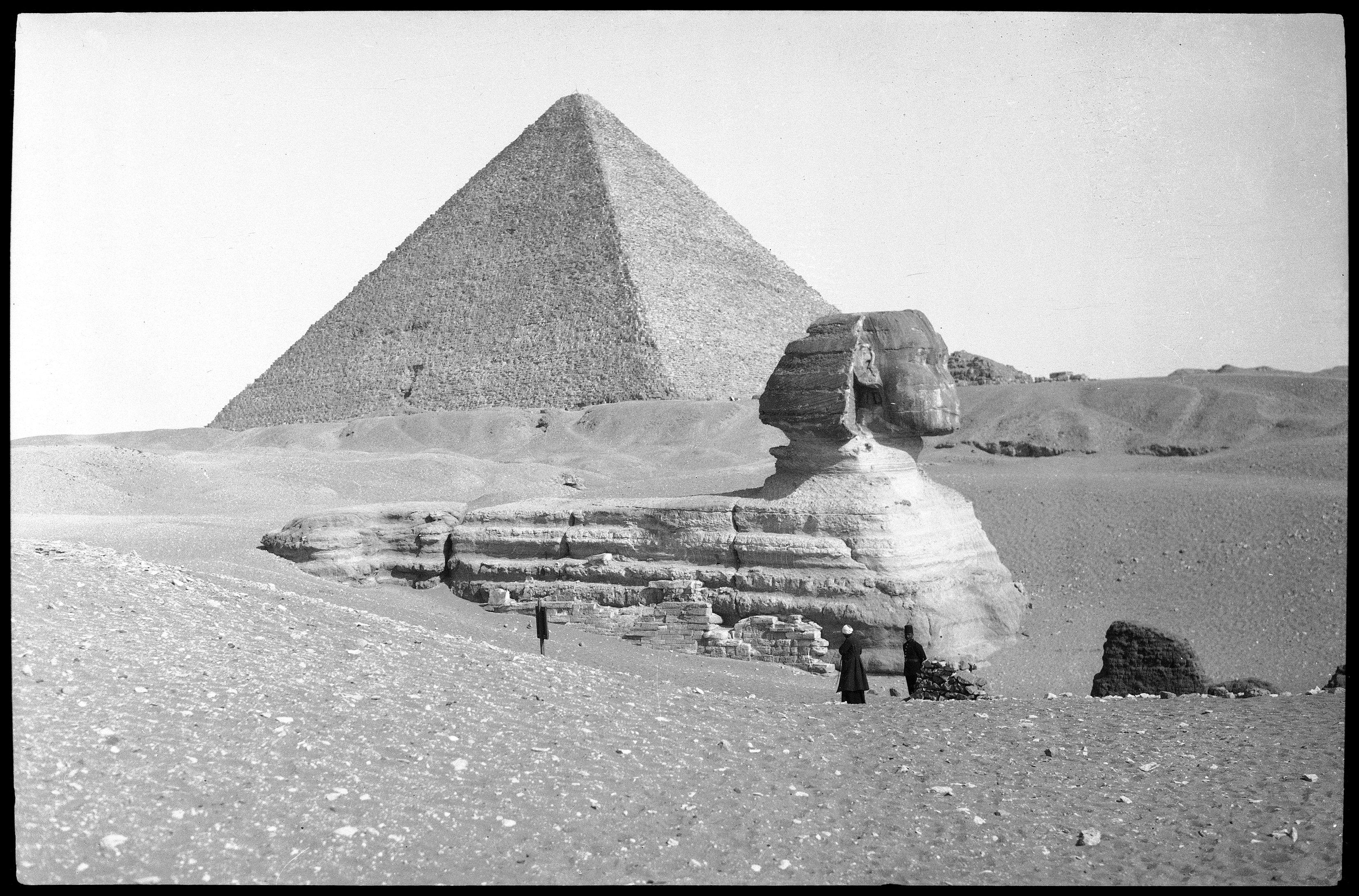Гиза. Пирамида. Сфинкс