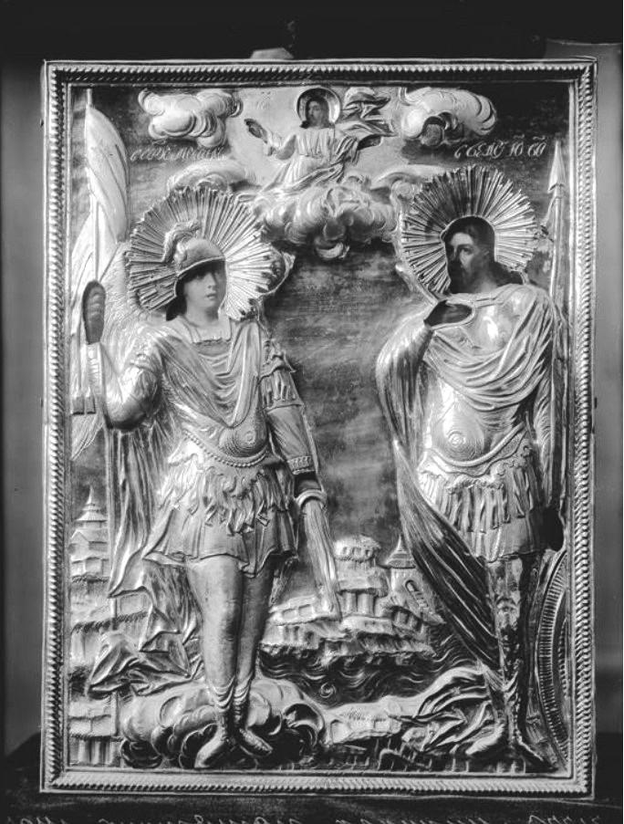 Икона на гробнице Козьмы Минина