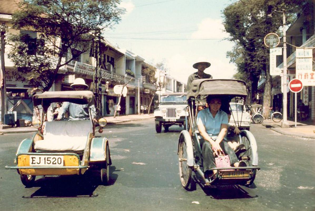 Пересечение улиц Нгуен-Три-Фуонг - Нгуен Трей