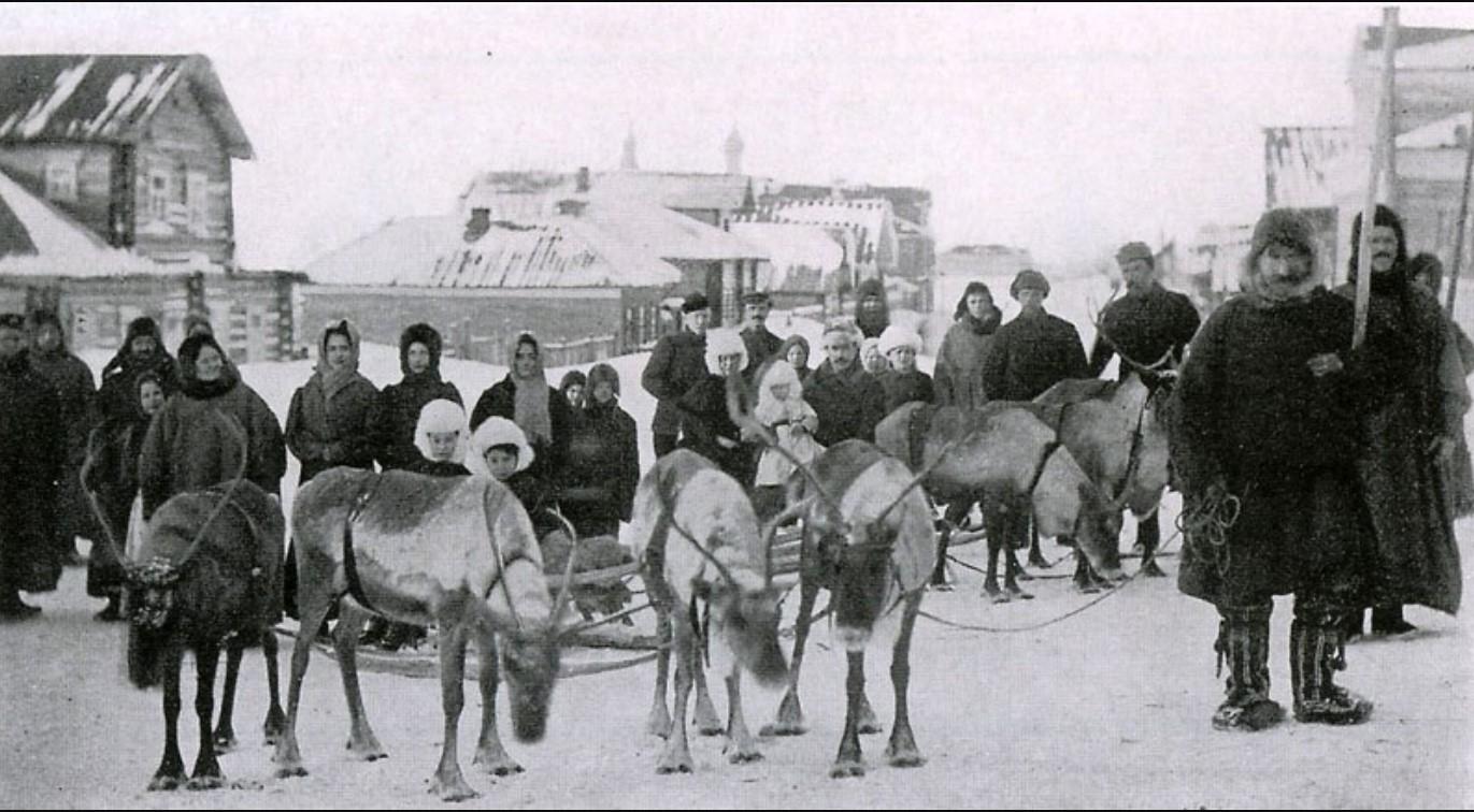 Жители Мезени