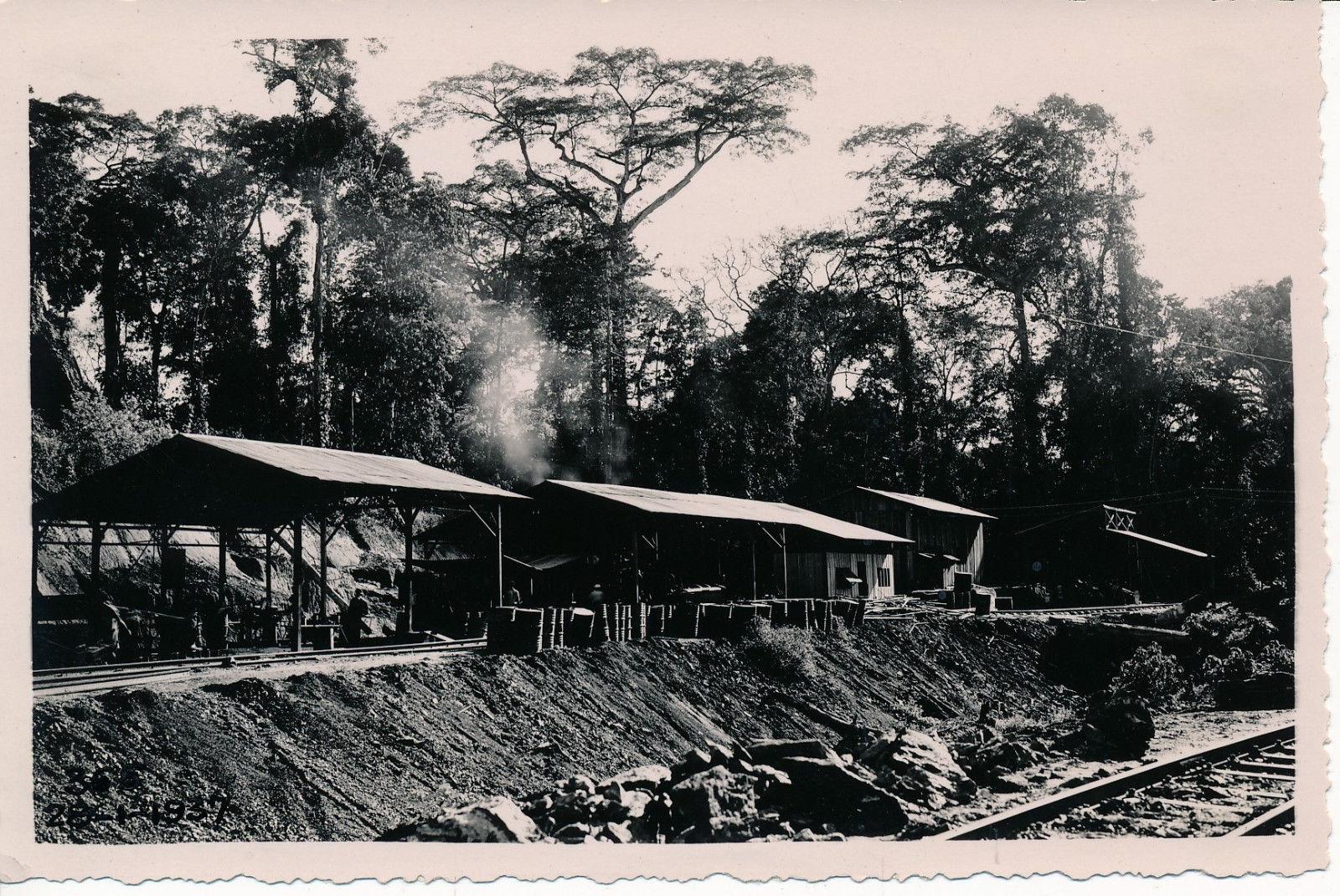 Рабочие постройки в Ломе
