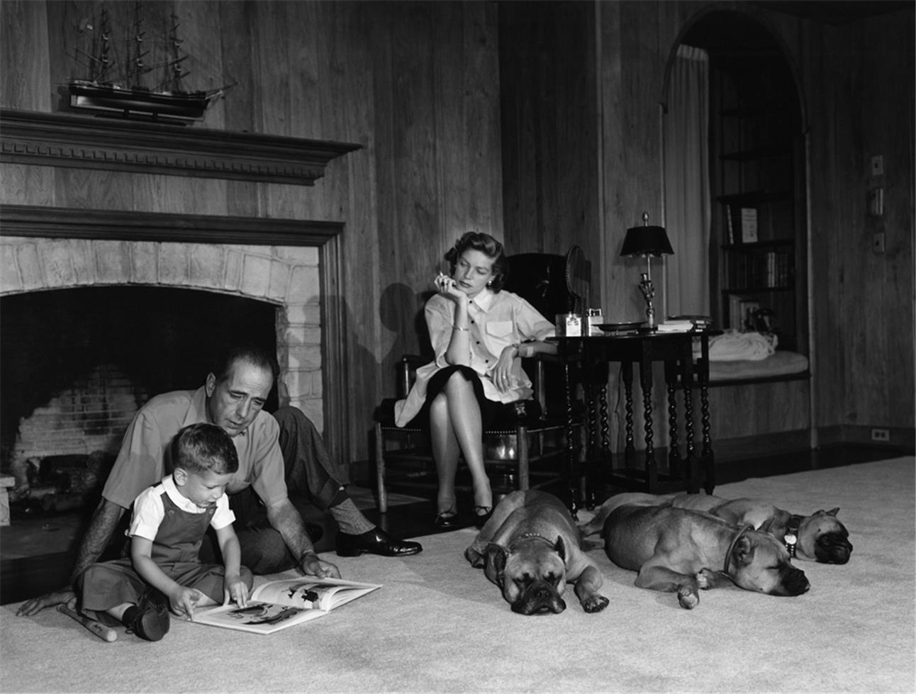 1952. Хамфри Богарт и Лорен Бэколл
