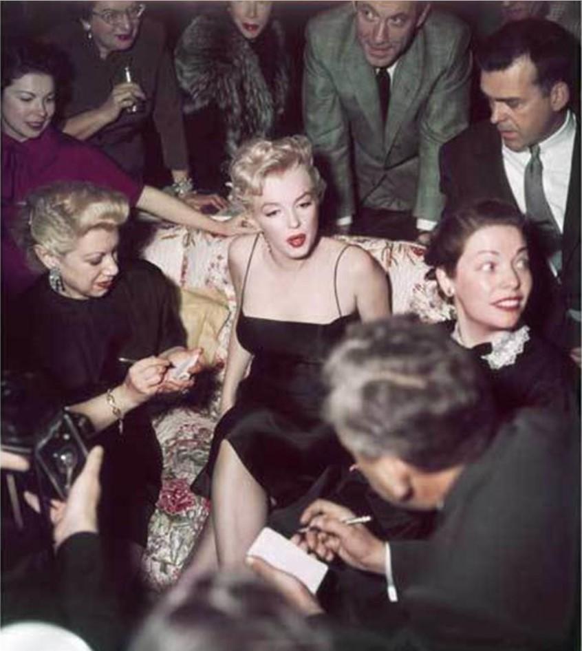 1956. Мэрилин Монро