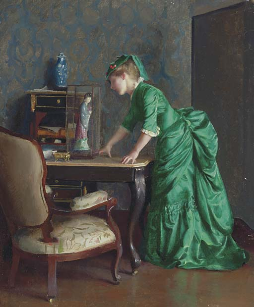 William_McGregor_Paxton_The_green_dress.jpg
