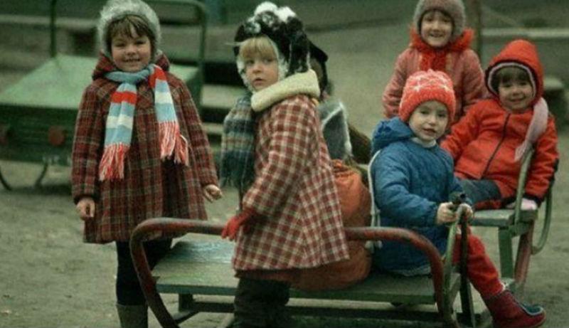 Любимые развлечения советских детей