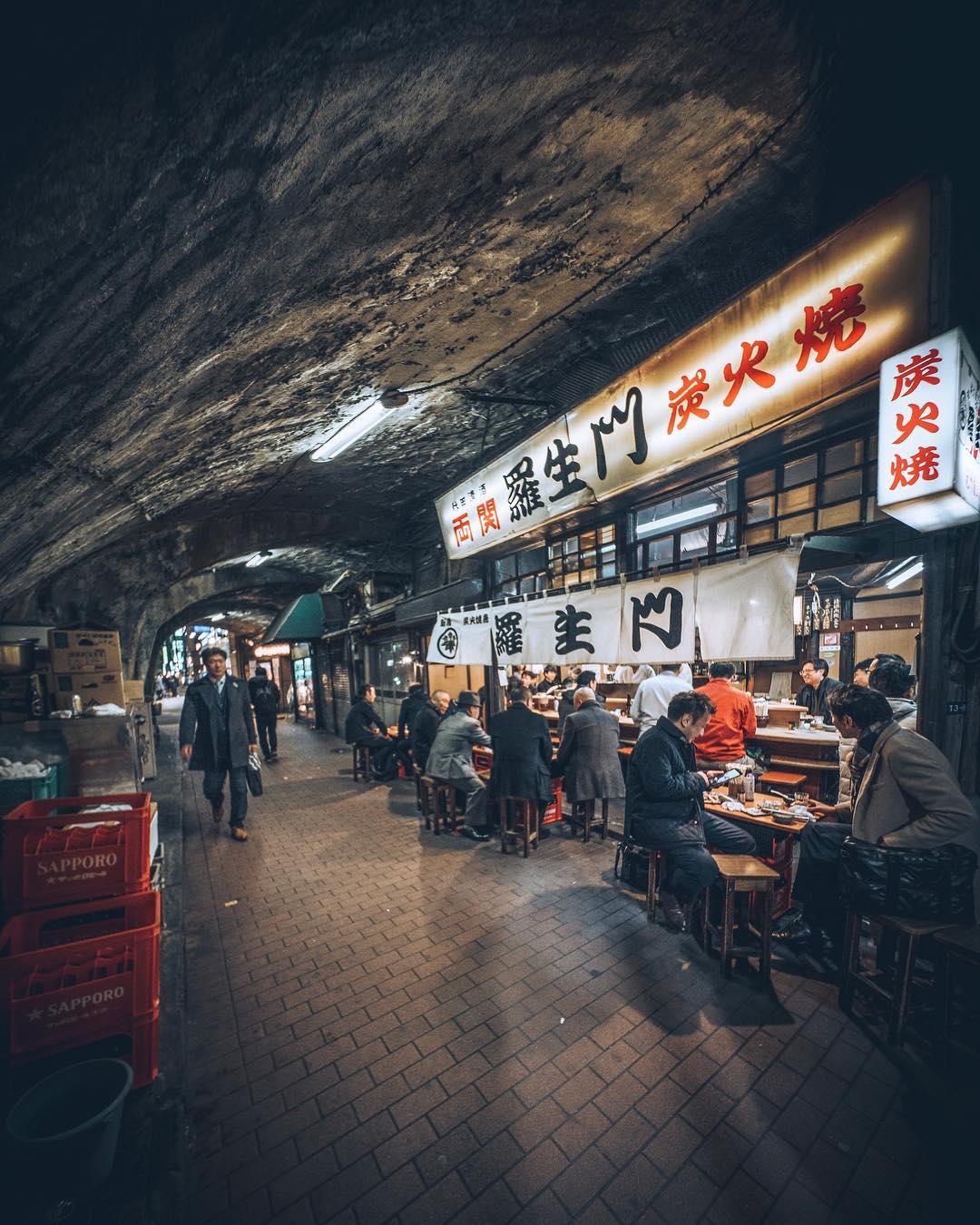 Замечательные уличные фотографии Токио от RK