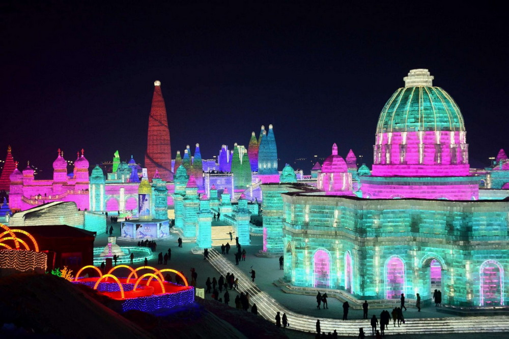 Харбинский фестиваль ледяных и снежных скульптур