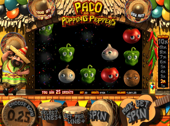 Paco and Popping Peppers main game.png
