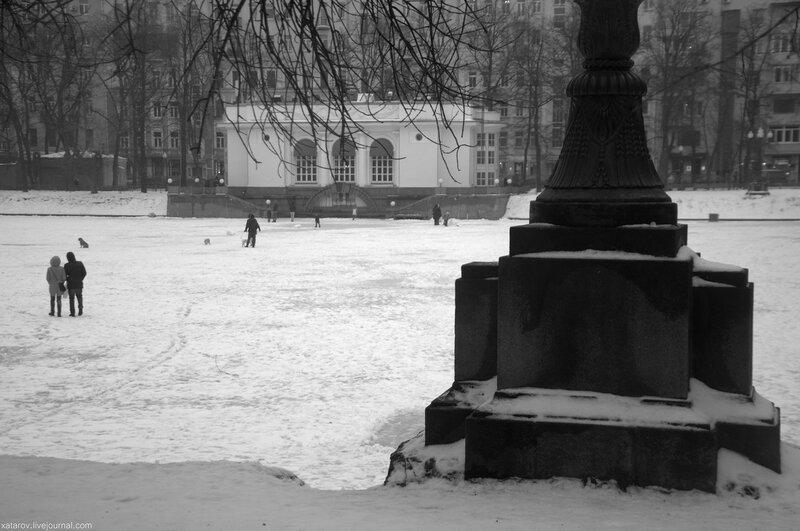 Иван Андреевич Крылов. Патриаршие пруды
