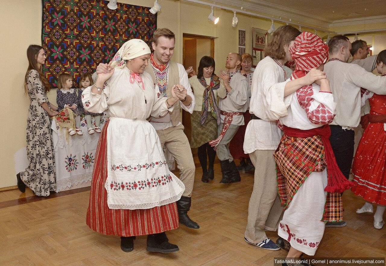 Танцевальная этно-вечеринка в филиале Ветковского музея. Гомель