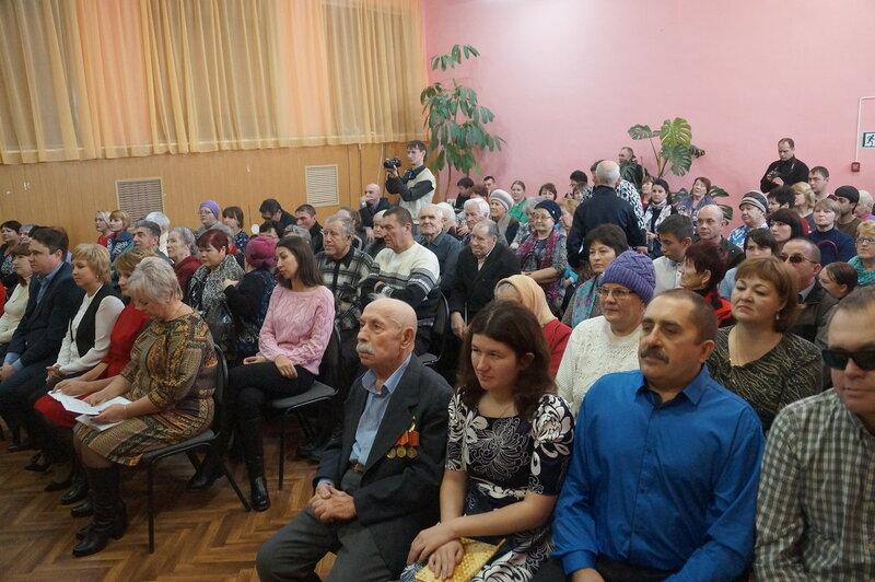 В Вольске состоялось торжественное мероприятие ко Дню инвалидов
