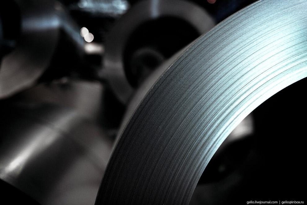 66. Оцинкованный металл востребован автопромом, предприятиями строительной индустрии, «белым» машино